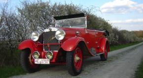SKODA präsentiert automobile Geschichte bei den ,Schloss Bensberg Classics'