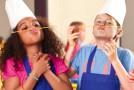 """""""Aus Liebe zum Nachwuchs. Mehr bewegen – besser essen."""" – Schulprojekt der EDEKA Stiftung begeistert """"mit Biss"""""""