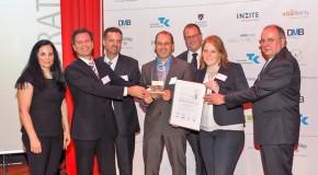 """AbbVie Deutschland als Sieger mit """"Corporate Health Award 2015"""" für betriebliches Gesundheitsmanagement ausgezeichnet"""