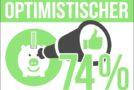 Mehrheit der Deutschen beurteilt die Zukunft positiv – Sparer sind besonders optimistisch