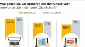 Konsumbarometer 2016 – Generation 50+ kauft ein: Gut informiert, aber nicht impulsiv