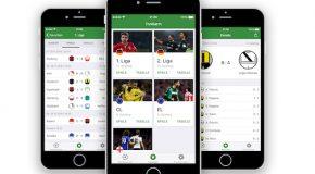 Deutschlands schnellste Fußball-App jetzt noch übersichtlicher