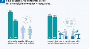 Digitalisierung: Arbeitnehmer zeigen wenig Eigeninitiative bei Weiterbildung