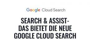 Google stellt neue cloud search vor