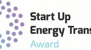 """Start Up Energy Transition Award"": Finalisten stehen fest"