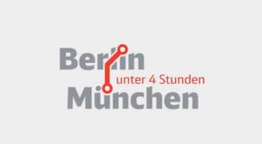 In Windeseile von München nach Berlin